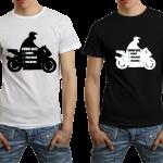 Tshirt Motorbike COVID19 safest