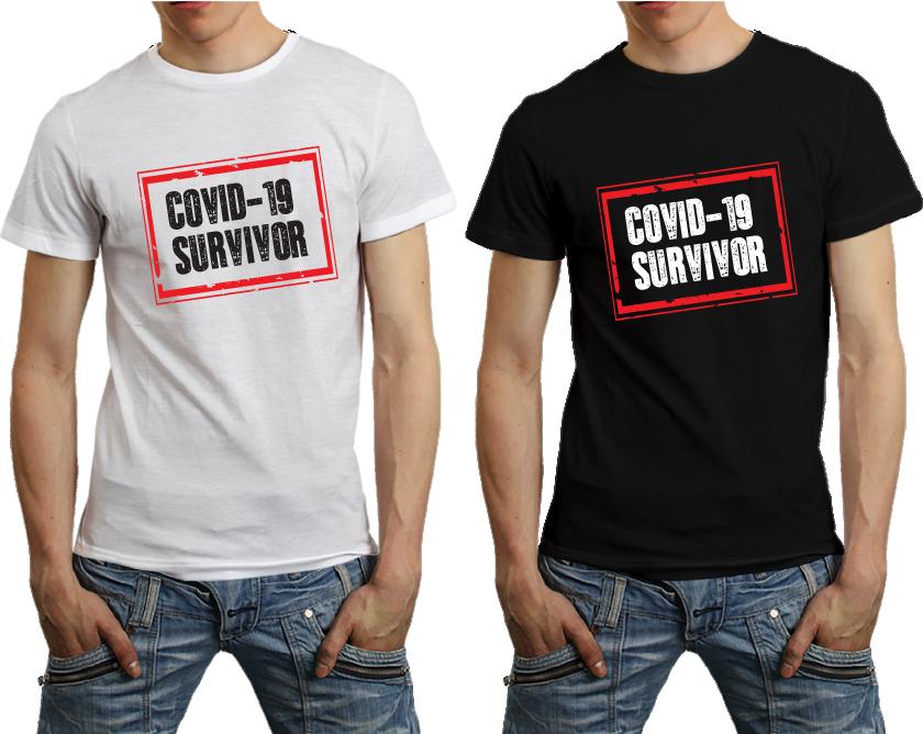 COVID-19 Tshirt Survivor