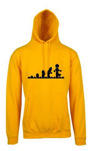 Lego Evolution Gold Hoodie Front