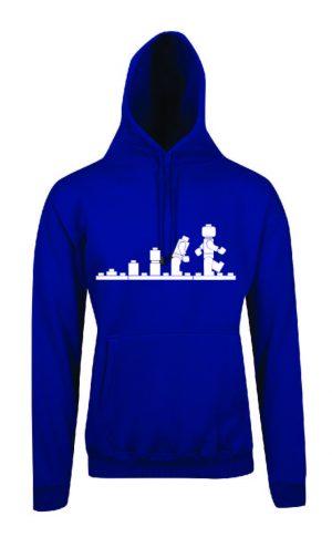 Lego Evolution Royal Blue Hoodie Front