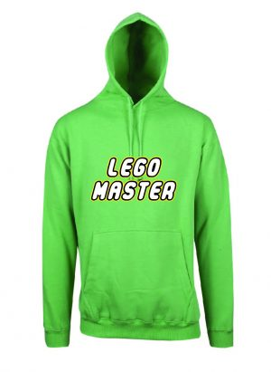 Lego Master Emerald Green Hoodie Front