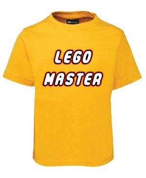 Lego Master Gold KIDS ONLY Mockup T-shirt