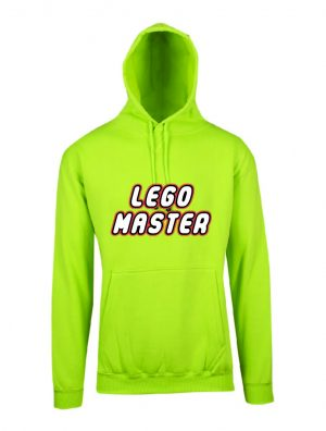 Lego Master Lime Hoodie Front