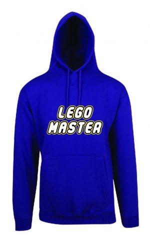 Lego Master Purple Hoodie Front
