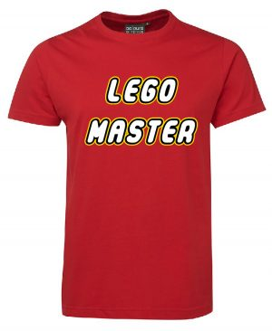 Lego Master Red Mockup T-shirt