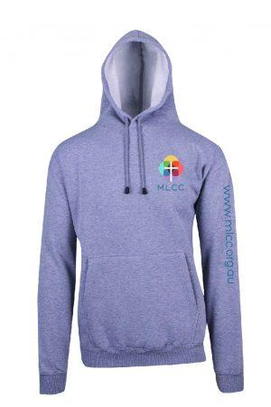 MLCC TP212H Grey Marle Hoodie front