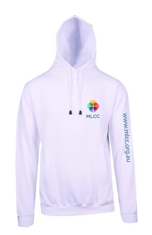 MLCC TP212H White Hoodie Front and side