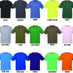 T100 Kids and Mens Colour Range