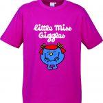 Little Miss Giggles Kids T10012 Kids Fuchsia Top