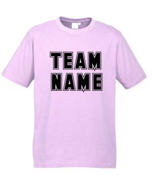 T10012 Light Pink Tshirt Front Mockup
