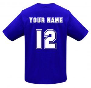 T10012 Purple Tshirt BACK Print Mockup