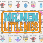 Mr Men and Little Miss Tshirts