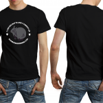 Wombat awareness Black Tshirt