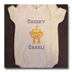 Examples of Custom prints and stickers - Vinyl Print Cheeky Charli