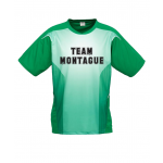 Green sports day top