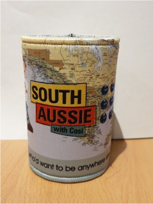 South Aussie with Cosi stubby holder 2