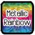vinyl Metallic Rainbow
